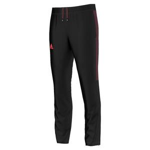 adidas MENS BARRICADE TENNIS PANT BLK/FLASH RED