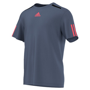 adidas MENS BARRICADE TENNIS TEE TECH INK