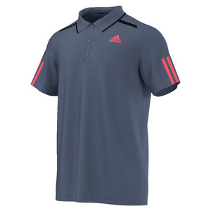 Men`s Barricade Tennis Polo Tech Ink