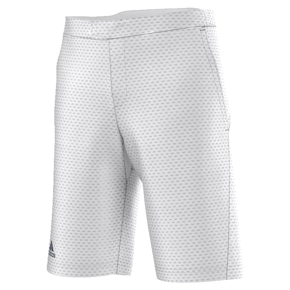 Men's Barricade Bermuda Tennis Short White