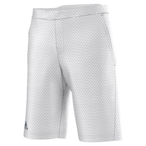 Men`s Barricade Bermuda Tennis Short White
