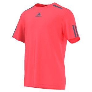 Men`s Barricade Tennis Tee Flash Red