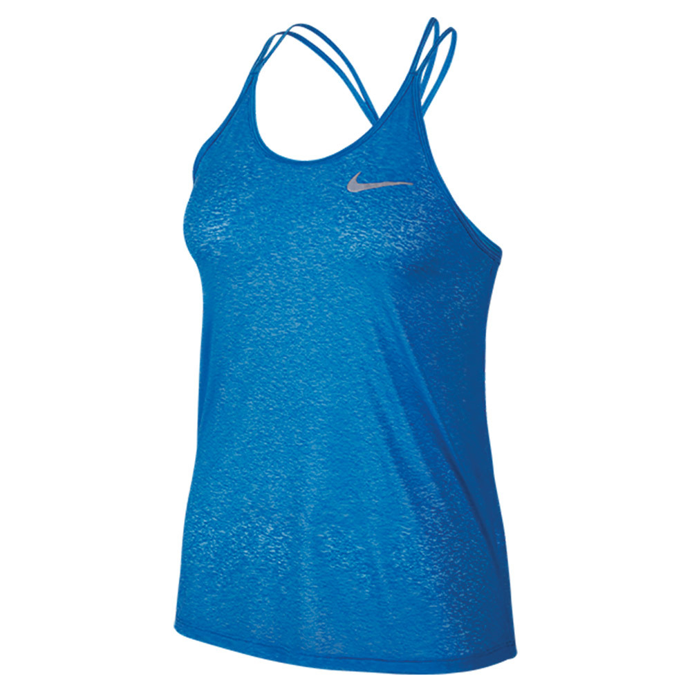 Women's Dri- Fit Cool Breeze Strappy Tank Light Photo Blue