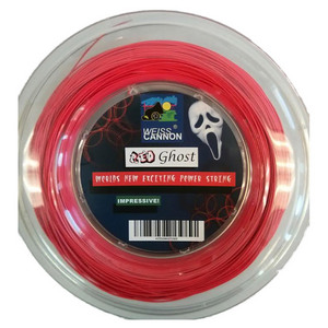 Red Ghost 17L/1.18MM Tennis String Reel Neon Red