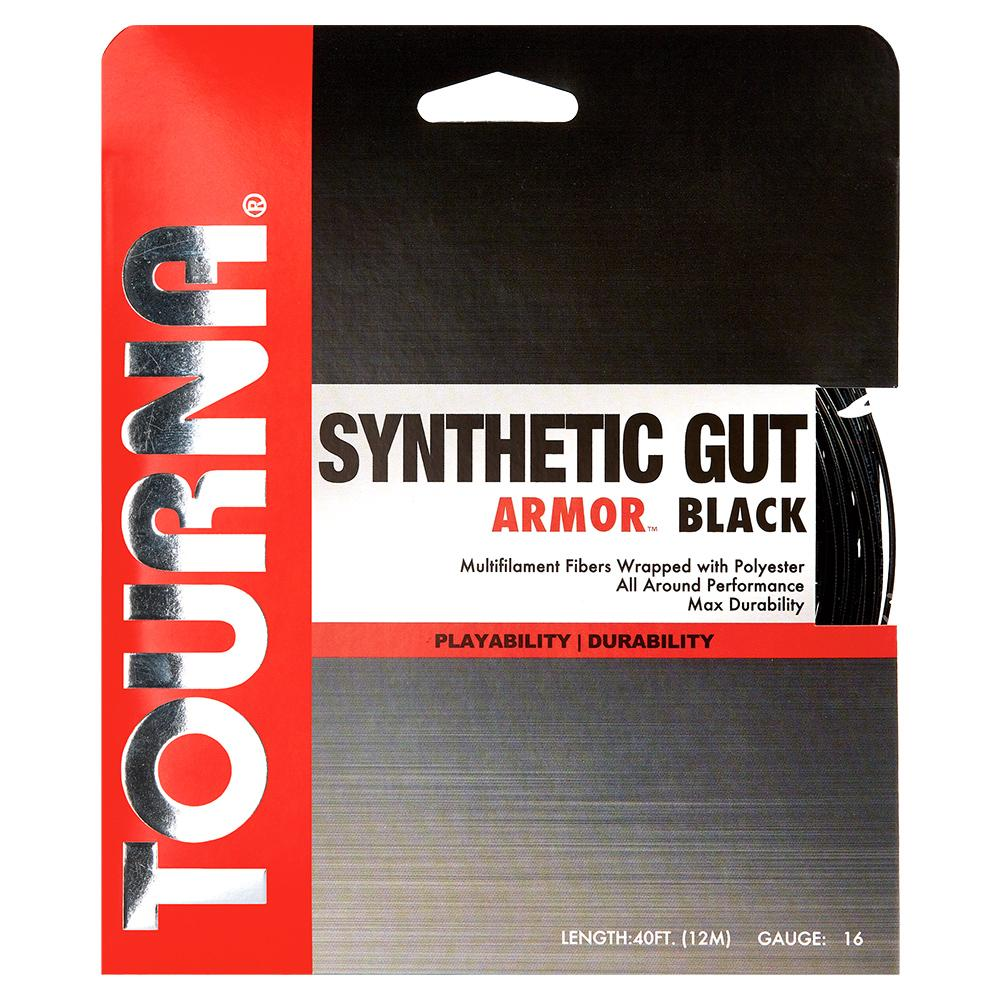 Synthetic Gut Armour Tennis String Black