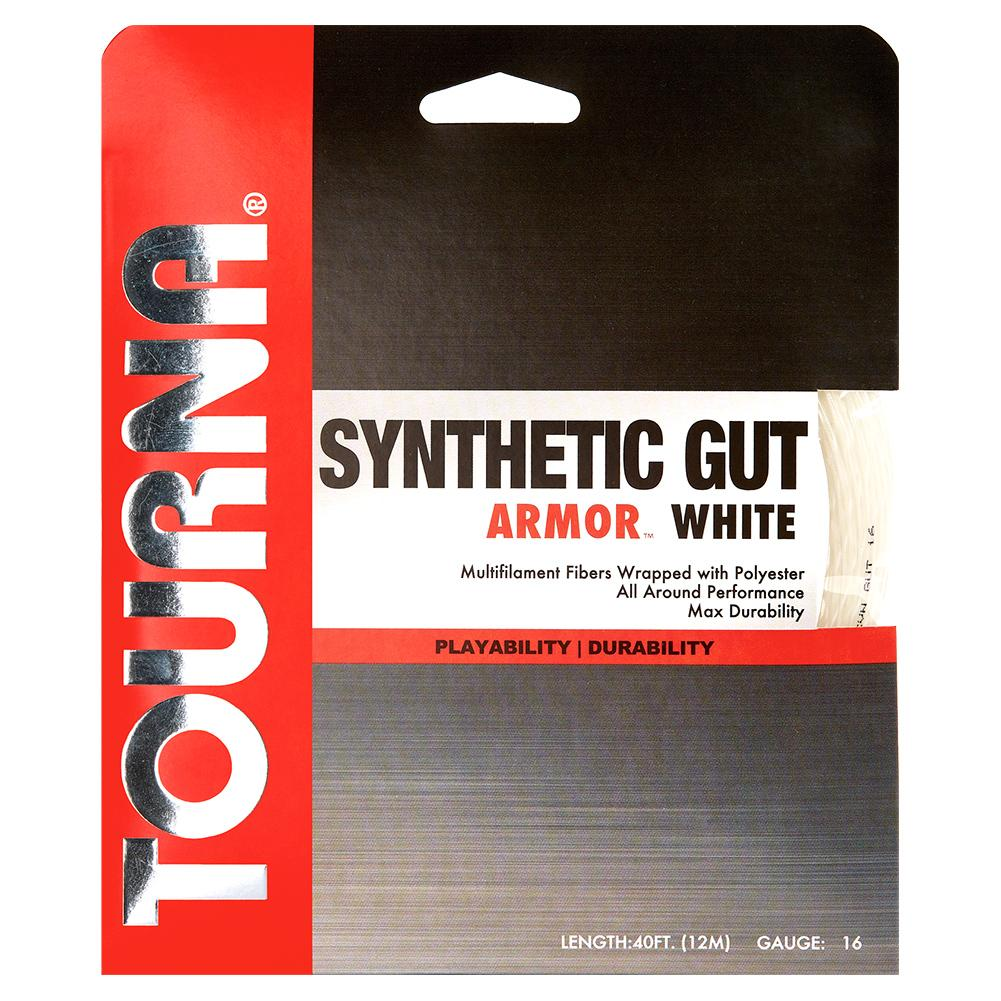 Synthetic Gut Armour Tennis String White