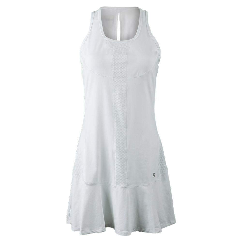 Women's Full Court Tennis Dress White