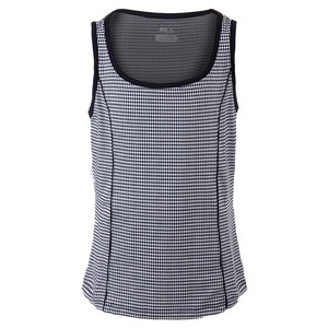 Girls` Gingham Tennis Tank