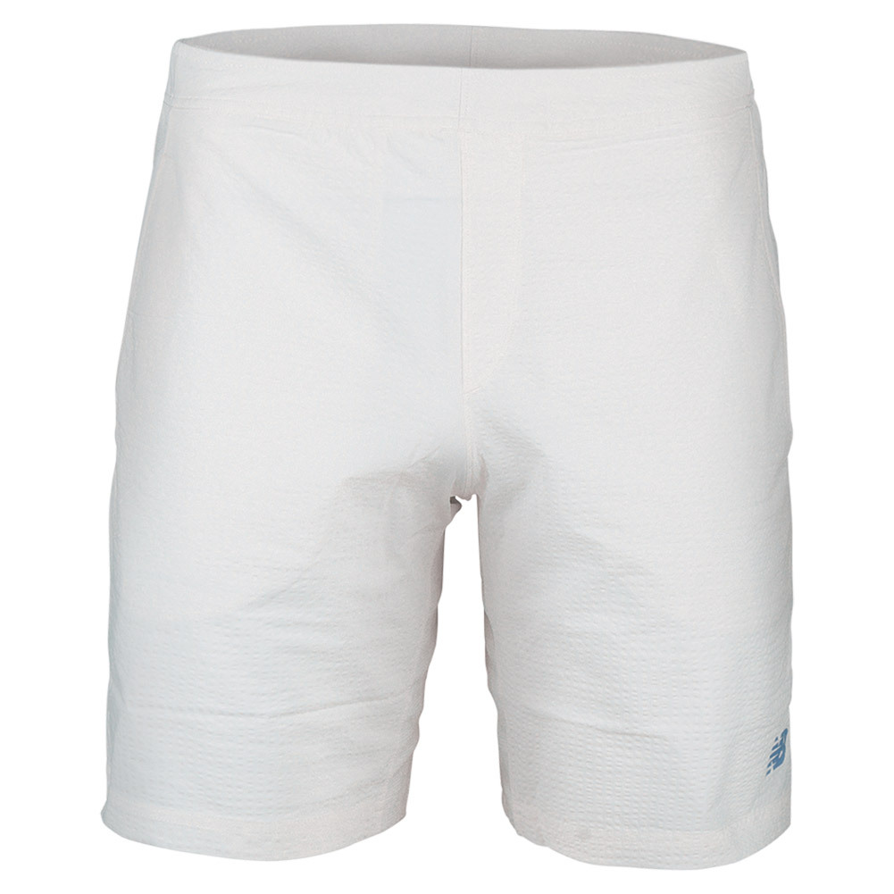 Men's Tournament 9 Inch Woven Tennis Short White