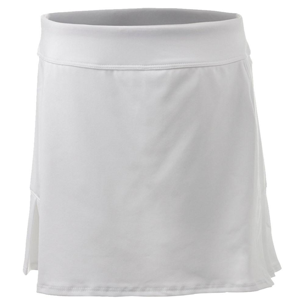 Girls ` Pleated Back Tennis Skort White