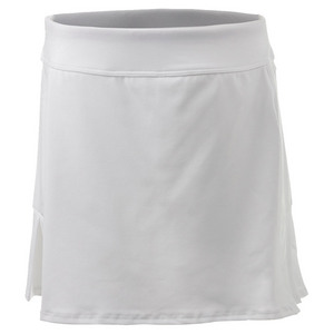 Girls` Pleated Back Tennis Skort White