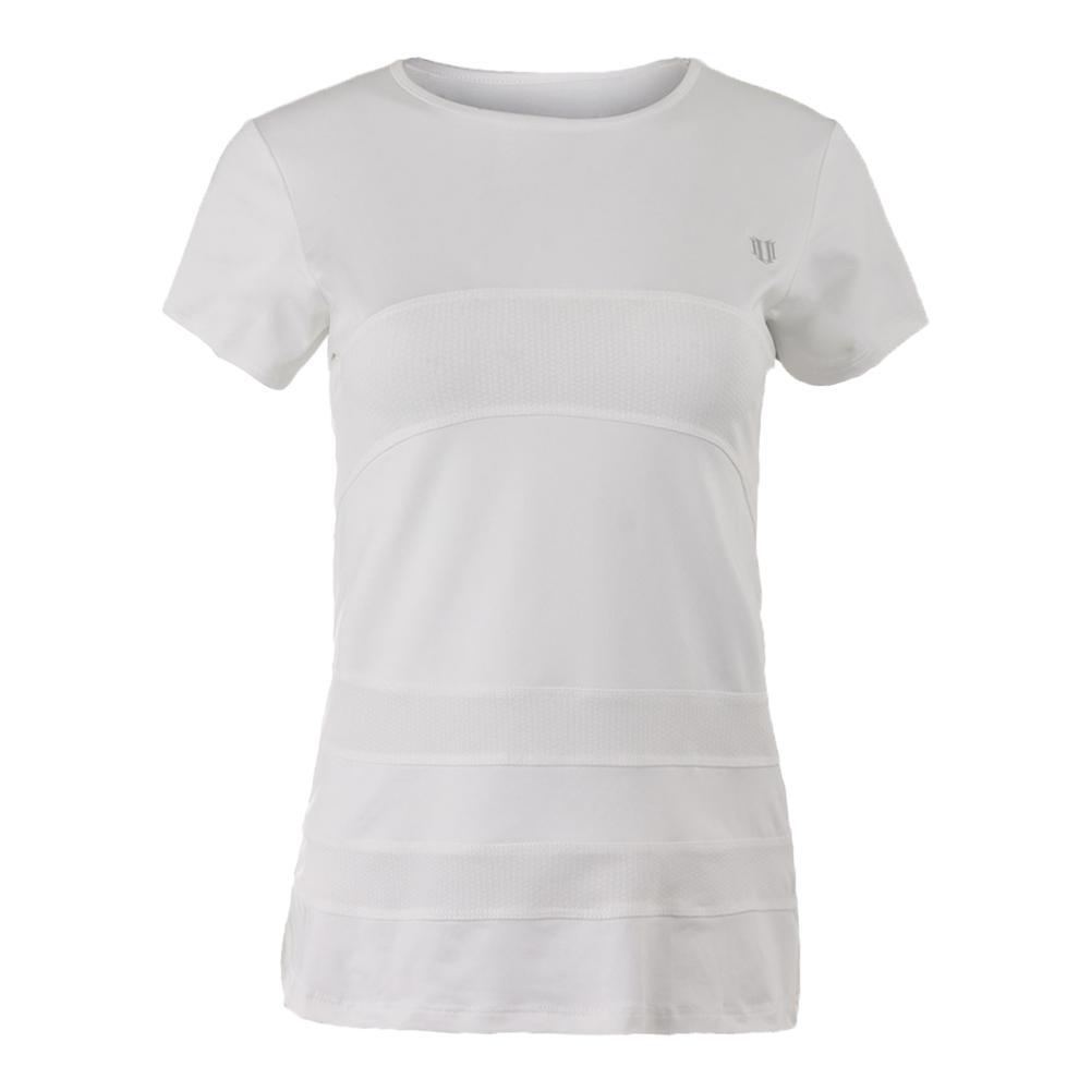 Women's Condition Tennis Tee White