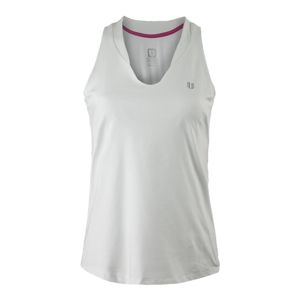 Women's Love Tennis Tank White