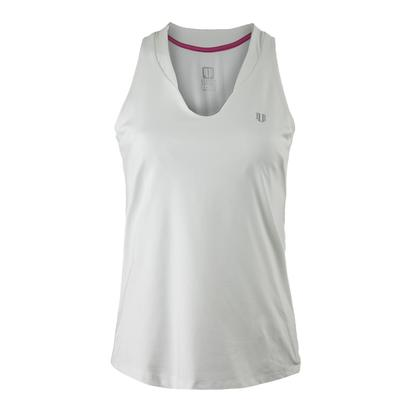 Women`s Love Tennis Tank White