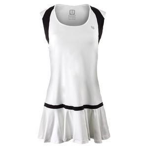 ELEVEN WOMENS GRAND SLAM TENNIS DRESS WHITE