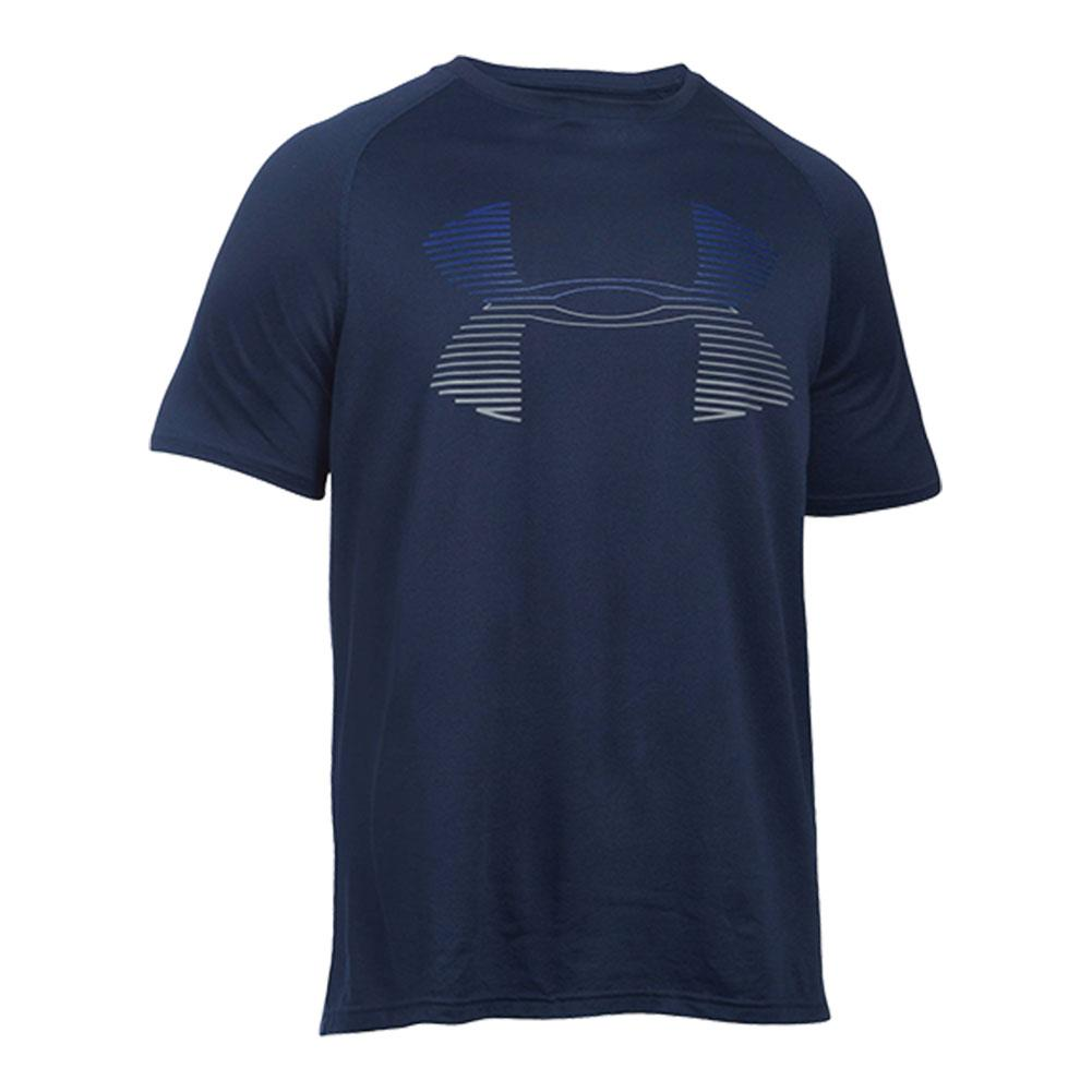 Men's Tech Horizon Big Logo Tee