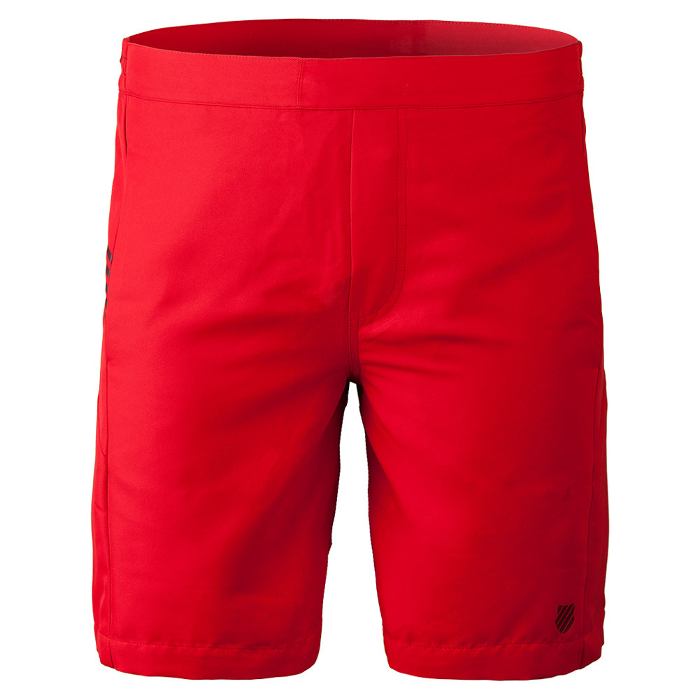 Men's Bb Tennis Short Fiery Red