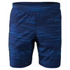 Men`s Traces Woven Tennis Short Turkish Blue by SOLFIRE