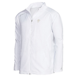 BABOLAT MENS WIMBLEDON CORE TENNIS JACKET WHITE