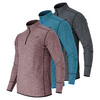 Men`s N Transit Quarter Zip Tennis Top by NEW BALANCE