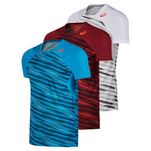 Men`s Athlete Short Sleeve Tennis Top