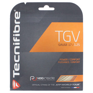 TECNIFIBRE TGV TENNIS STRINGS 17G/1.25 MM