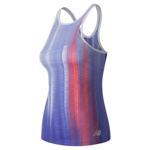 Women`s Yarra Tennis Tank Spectral Print