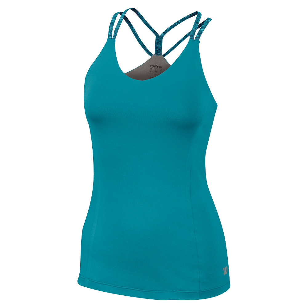 Women's Double Strap Tennis Tank Eastern Shoreline