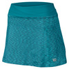WILSON Women`s Striated 13.5 Inch Tennis Skort Eastern Shoreline