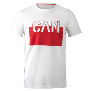 Men`s Canada Tee White and Red