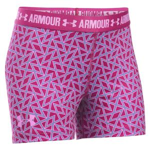 Girls` Heatgear Printed Shorty
