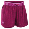 Girls` Printed Play Up Short 702_BK_CHERRY/VIOLET