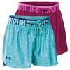 Girls` Printed Play Up Short by UNDER ARMOUR