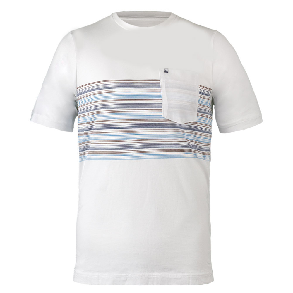 Men's Mondesi Tennis Tee White