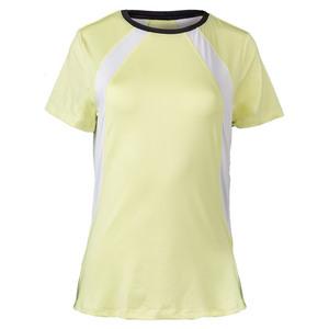 Women`s Hayden Tennis Crew Daffodil