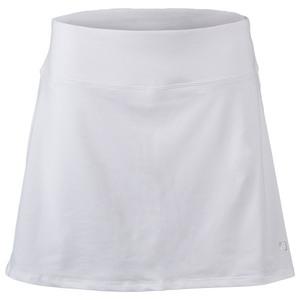 FILA WOMENS CORE FLARE 15 IN TNS SKORT WHITE