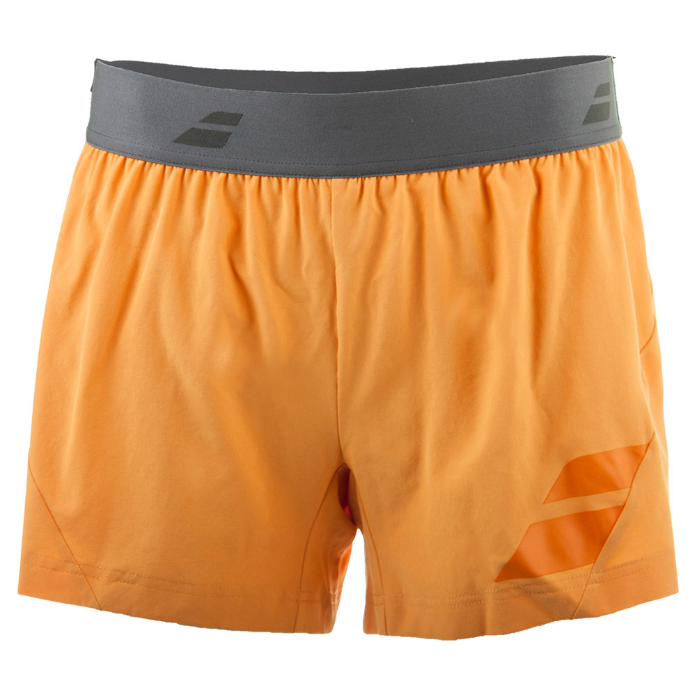 Women's Performance Tennis Short Orange