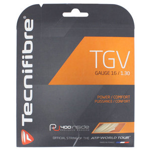 TECNIFIBRE TGV TENNIS STRINGS 16G/1.30 MM