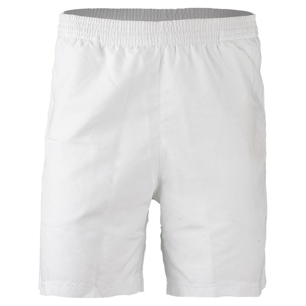 Men's Fundamental 7 Inch Hard Court Tennis Short White