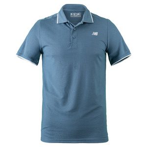 NEW BALANCE MENS CHALLENGER CLASSIC TNS POLO RIPTIDE
