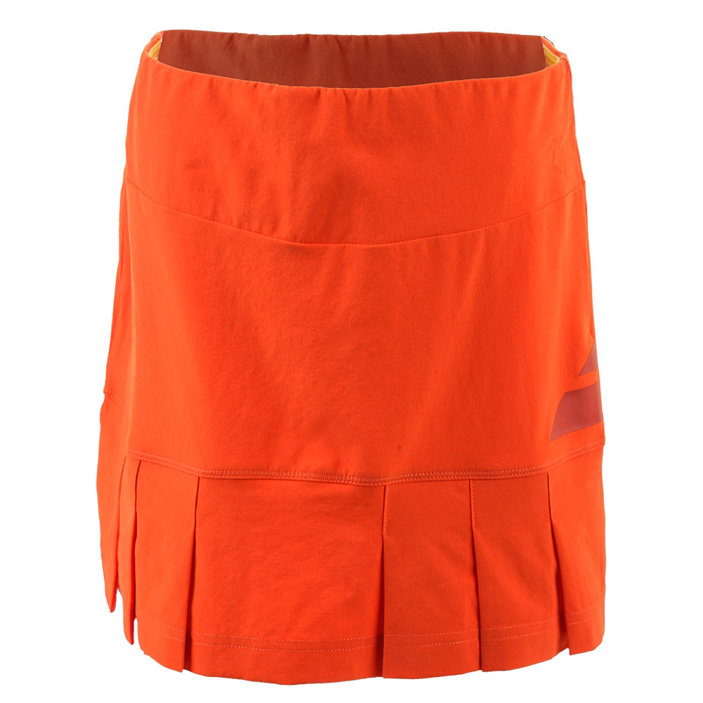 Girls ` Performance Tennis Skirt Red