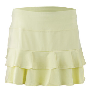TAIL WOMENS DOUBLES 13.5IN TNS SKORT DAFFODIL