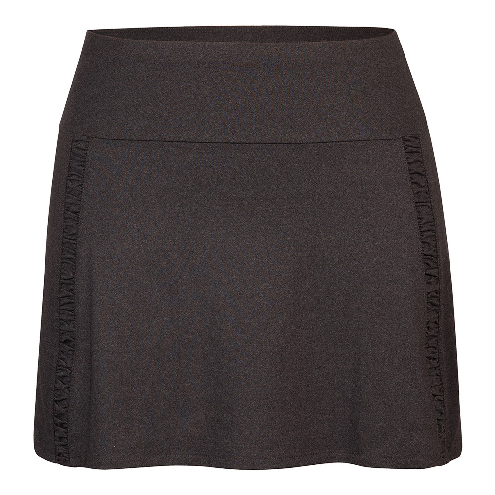 Women's Gisela 14.5 Inch Tennis Skort Black Heather