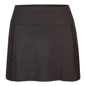 Women`s Gisela 14.5 Inch Tennis Skort Black Heather
