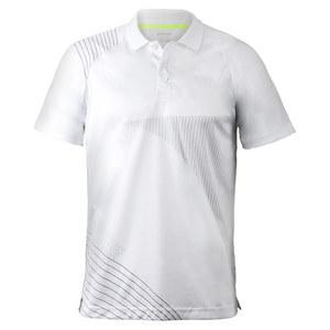 Men`s Screenprint Tennis Polo