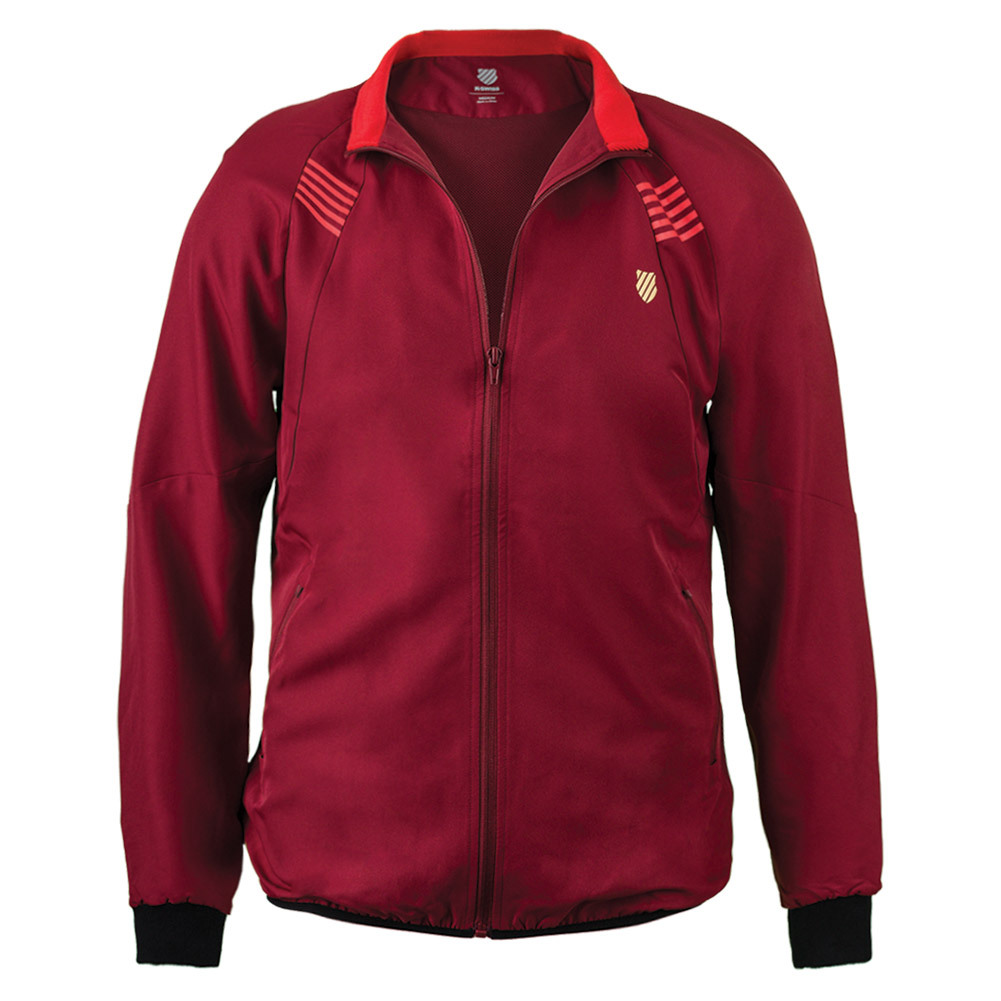 Men's Bb Warm Up Tennis Jacket Biking Red
