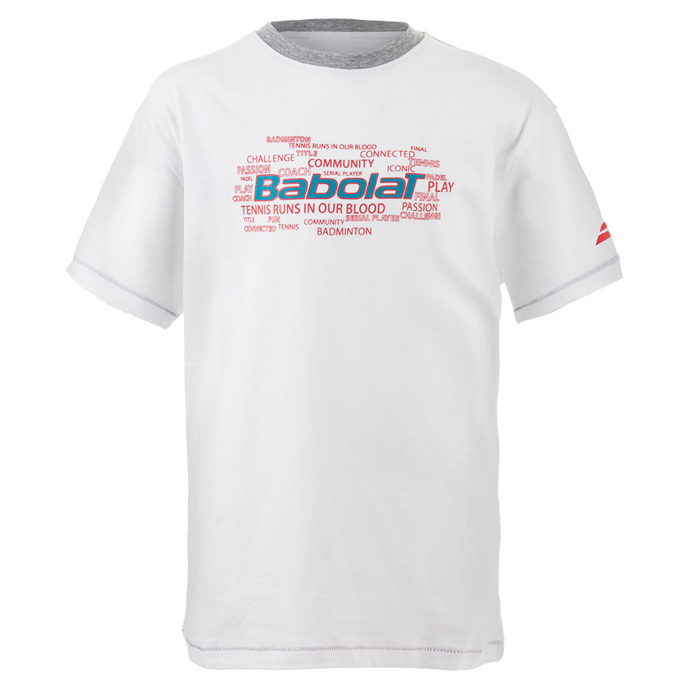 Boys ` Core Training Tennis Tee