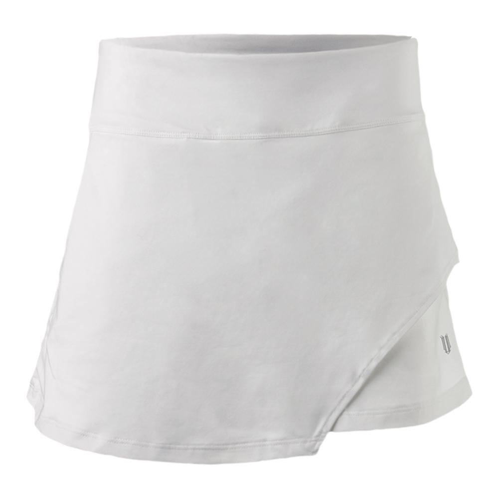 Women's Fly 14 Inch Tennis Skort White