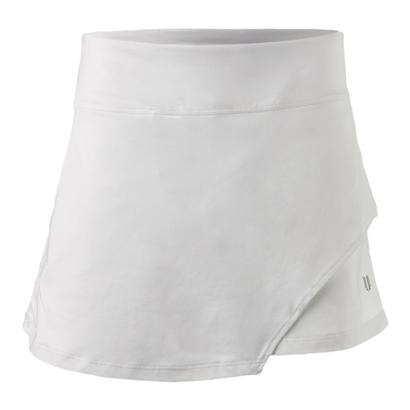 Women`s Fly 14 Inch Tennis Skort White