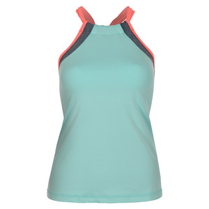 Women`s Tennis Halter Top Frosted Aqua